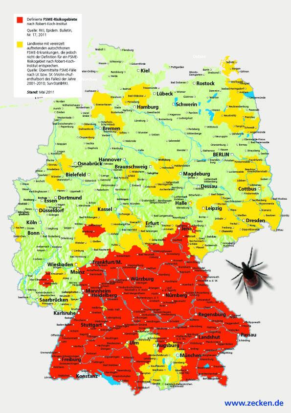 Risikogebiet Deutschland